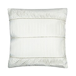 Kylie Minogue at home - Ivory embellished cushion