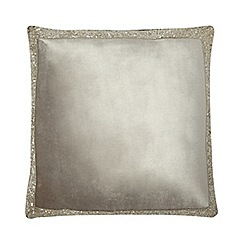 Kylie Minogue at home - Taupe 'Alonzo' cushion