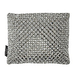 Kylie Minogue at home - Grey 'Alira' cushion