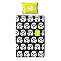 Star Wars - Kids' black 'Star Wars' duvet cover and pillow case set