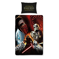 Star Wars - Kids' black 'Star Wars: The Force Awakens' duvet cover and pillow case set