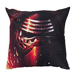 Star Wars - Black 'Star Wars' cushion