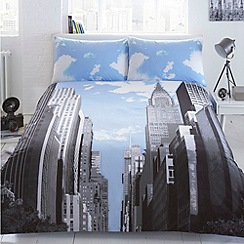 Ben de Lisi Home - City print 'NYC' bedding set