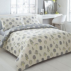 Ben de Lisi Home - Designer cream tree print bedding set