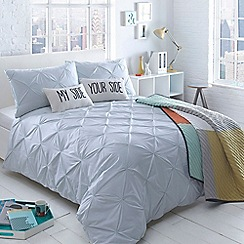 Ben de Lisi Home - Aqua 'Brooklyn Aqua' diamond bedding set