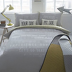 Ben de Lisi Home - Grey 'Adventure' bedding set