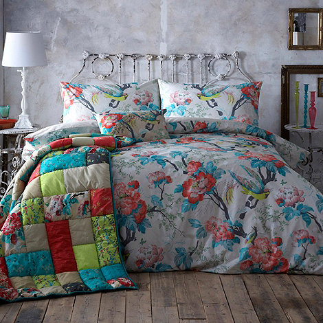 Butterfly Home by Matthew Williamson - Ivory +British Affair+ floral bedding set