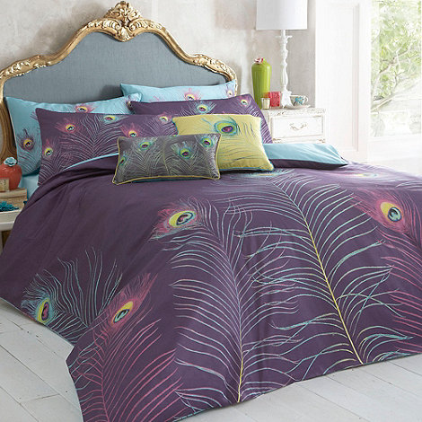 Butterfly Home by Matthew Williamson - Purple +Peacock+ bedding set