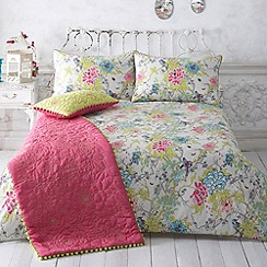 Butterfly Home by Matthew Williamson - Natural designer 'primavera' bedding set