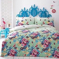 Butterfly Home by Matthew Williamson - Green 'Azure' bedding set