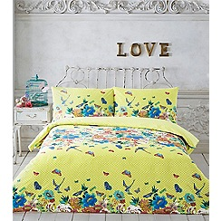 Butterfly Home by Matthew Williamson - Multi-coloured 'Lizzie' bedding set