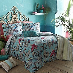 Butterfly Home by Matthew Williamson - 'Eden' aqua bedding set