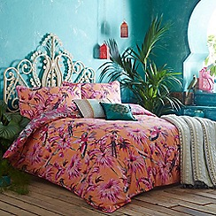 Butterfly Home by Matthew Williamson - 'Eden' orange bedding set