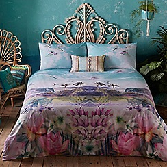 Butterfly Home by Matthew Williamson - Multi-coloured tropical print 'Cuba' bedding set