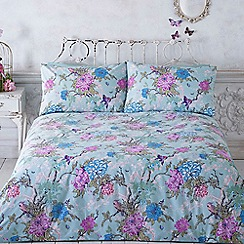 Butterfly Home by Matthew Williamson - Aqua tropical print bedding set