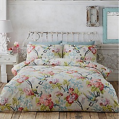 Butterfly Home by Matthew Williamson - Cream floral print 'British Affair' bedding set