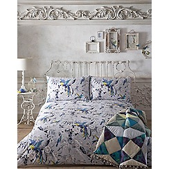 Butterfly Home by Matthew Williamson - Blue printed 'Paradiso' bedding set