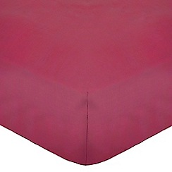 Home Collection - Pink cotton rich percale bed linen