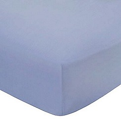 Home Collection Basics - Light blue polycotton bed sheets