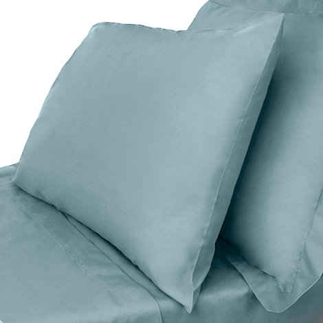 Debenhams - Dark turquoise Egyptian cotton bed sheets