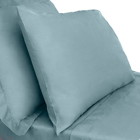 Home Collection - Dark turquoise 200 thread count Egyptian cotton fitted sheet