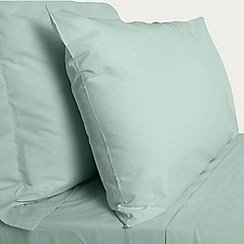 Debenhams - Aqua Egyptian cotton bed sheets