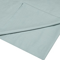 Home Collection - Aqua Egyptian cotton 200 thread count flat sheet