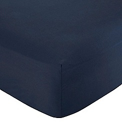 Home Collection - Blue 200 thread count Egyptian cotton fitted sheet