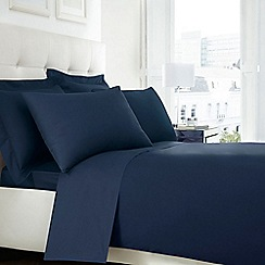Home Collection - Blue 200 thread count Egyptian cotton duvet cover