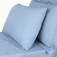 Home Collection - Pale blue Egyptian cotton bed linen