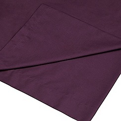 Home Collection - Purple 200 thread count Egyptian cotton flat sheet