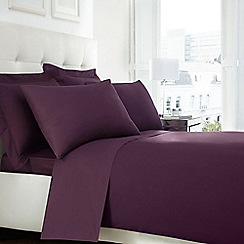 Home Collection - Purple Egyptian cotton 200 thread count duvet cover