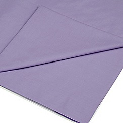 Home Collection - Light purple Egyptian cotton 200 thread count flat sheet