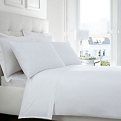 Home Collection - White Egyptian cotton 200 thread count flat sheet