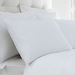 Home Collection - White 200 thread count Egyptian cotton pillow case pair