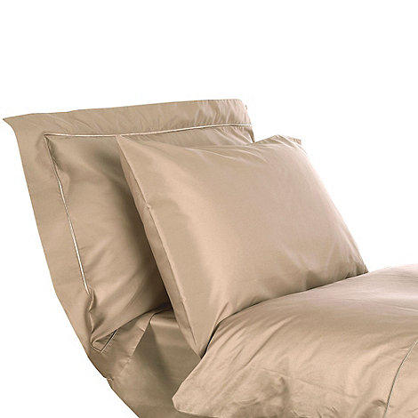Designers at Debenhams - Cream 500 thread count Supima cotton fitted sheet