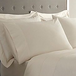 J by Jasper Conran - Ivory Supima cotton 500 thread count pillow case pair