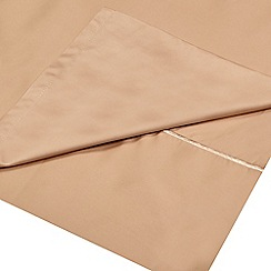 Designers at Debenhams - Cream 500 thread count Supima cotton flat sheet