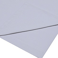 Home Collection - Pale blue brushed cotton flannelette 200 thread count flat sheet