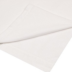 Home Collection - White brushed cotton flannelette 200 thread count flat sheet