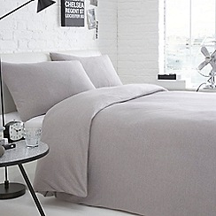 Home Collection Basics - Grey 'Jersey' bedding set