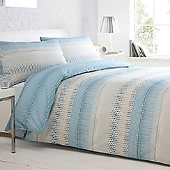 Home Collection Basics - Aqua 'Maddison' bed linen
