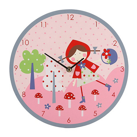 Gisela Graham - Red riding hood clock