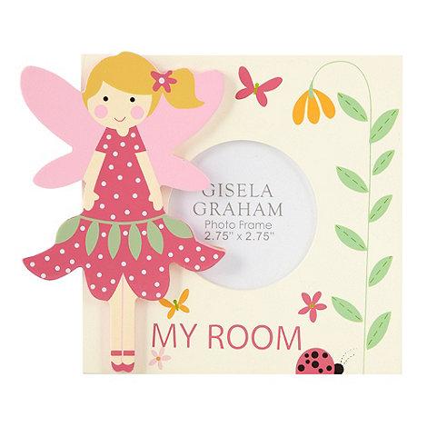Gisela Graham - Cream fairy motif photo frame