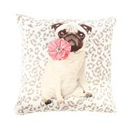 Designer Coco Dog Cushion Cream