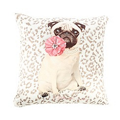 Star by Julien Macdonald - Designer Coco Dog Cushion Cream