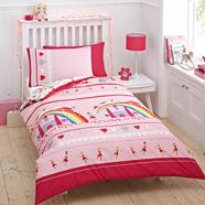Pink 'Ballerina' bedding set
