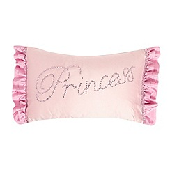 Star by Julien Macdonald - Designer pink 'Princess' cushion