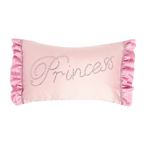 Star by Julien Macdonald - Designer pink +Princess+ cushion