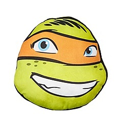 Teenage Mutant Ninja Turtles - Green 'Teenage Mutant Ninja Turtles' shaped cushion